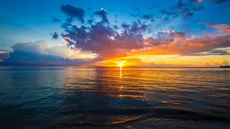Free photo: Beautiful sunset - Beautiful, Cloud, Cloudy ...