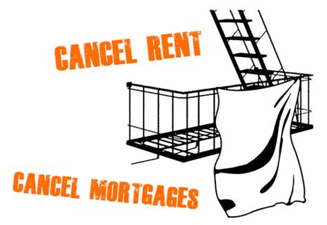 Cancel Rent! Cancel Mortgages! Sheet and Banner Drop ...
