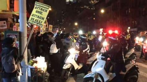 At least 11 arrested during Black Lives Matter protest in ...