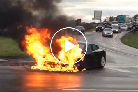 It Has Happened: Tesla Model S Catches Fire | CarBuzz