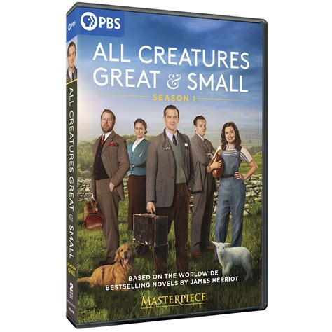 PRE-ORDER Masterpiece: All Creatures Great and Small DVD ...