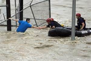 Houston, Texas, Hit by Unprecedented Flooding; Seven States At Risk ...