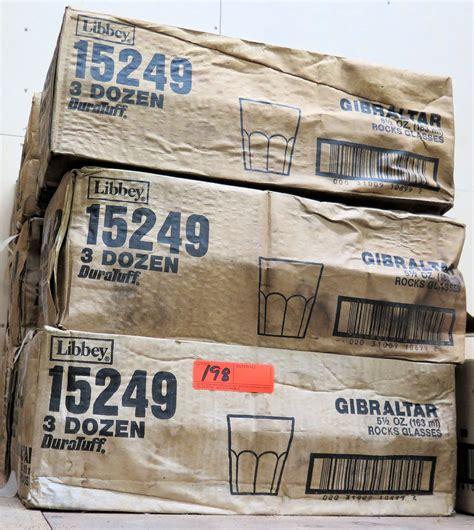 Multiple Cases Libbey 15249 Gibraltar 5.5 oz Rocks Glasses ...