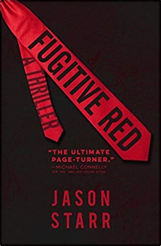 Fugitive Red by Jason Starr / Review by G.Robert Frazier