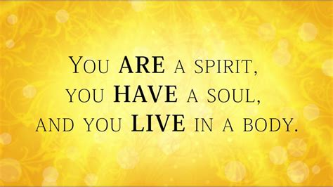 Your Spirit, Soul and Body - YouTube