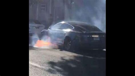 Actress calls out Tesla after husband's car bursts into flames | abc7ny.com