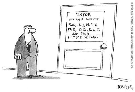 Titles vs. Servanthood | CT Pastors