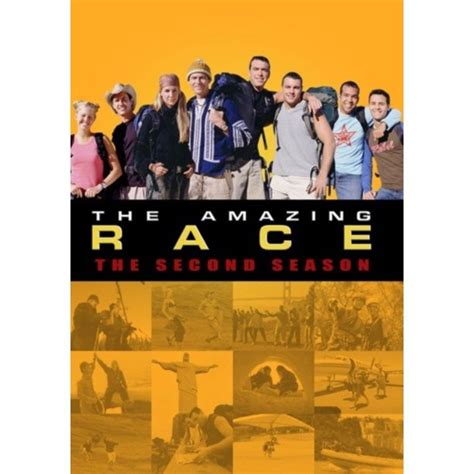 The Amazing Race: The Second Season (DVD) - Walmart.com ...