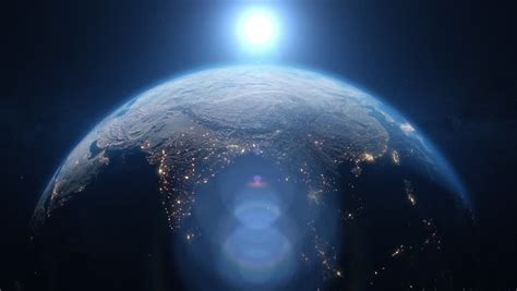 Planet Earth from Space. Beautiful Stock Footage Video ...