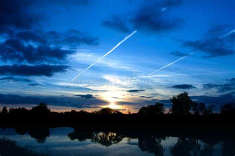 Beautiful Nature, Evening Royalty Free Stock Image - Image ...
