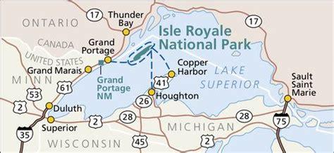 The shape of Lake Superior looks like a wolf; Isle Royale ...