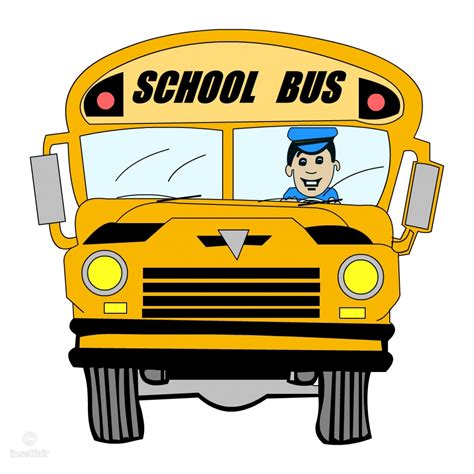 Library of bus driver vector free music png files Clipart ...
