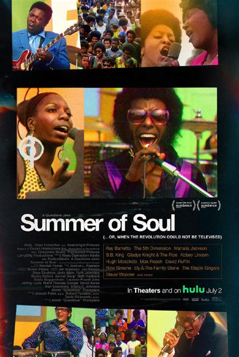 Summer of Soul (...Or, When the Revolution Could Not Be ...