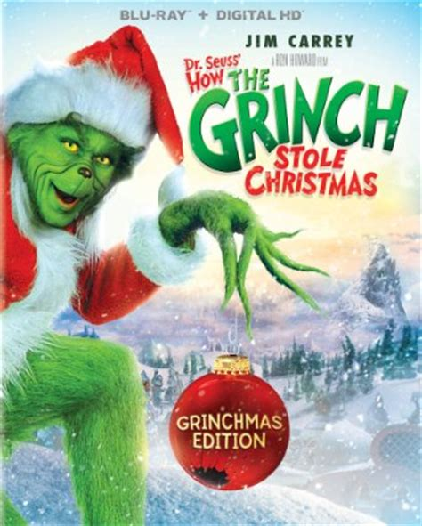 15th Anniversary of Live Action Grinch Coming to Blu Ray - My Merry Christmas