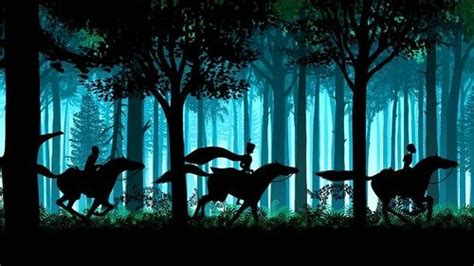 Fairytale silhouettes by Lotte Reiniger - Beauty will save ...