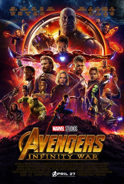 New Trailer & Poster For Avengers: Infinity War ...
