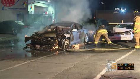 Tesla Model S Catches Fire Twice In One Day | Gizmodo Australia