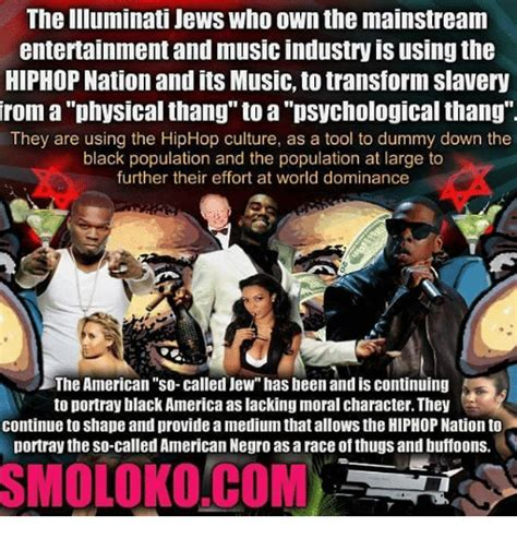The Illuminati Jews Who Own the Mainstream Entertainment ...