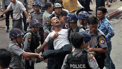 Myanmar CSO Group Wants Arrests of Peaceful Antiwar ...