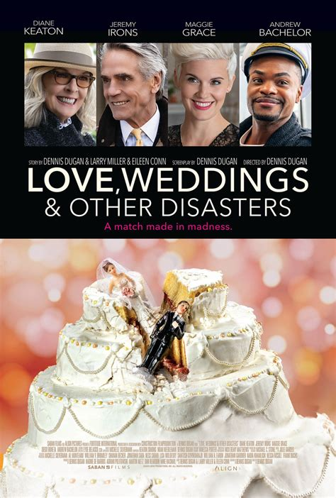 'Love, Weddings & Other Disasters' with Diane Keaton ...