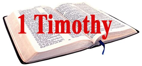 1st Timothy Bible Study Lesson Sheets