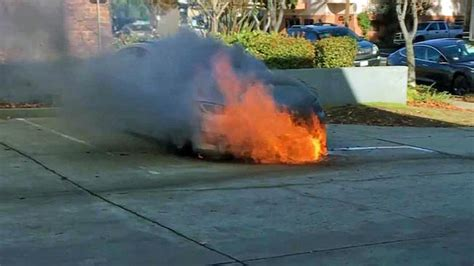 Tesla Model S Catches Fire, Then Reignites Hours Later in Calif. - NBC New York