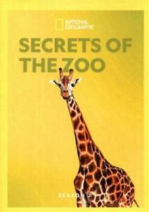 NATIONAL GEOGRAPHIC: SECRETS OF THE ZOO - SEASON 2 NEW DVD ...