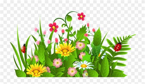 Best Free Flower Garden Clip Art Cdr Vector Images ...