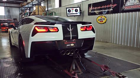 Hennessey Dyno Testing HPE700 Supercharged 2014 Corvette Stingray [Video] - autoevolution