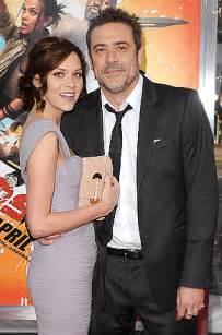 Jeffrey Dean Morgan with Wife