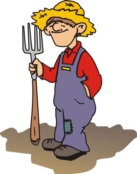 Farmer Cartoon - Cliparts.co