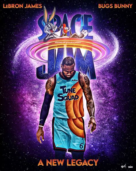 Space Jam: A New Legacy | Concept movie poster Designed by ...