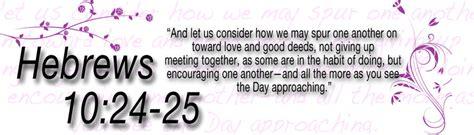 Hebrews 10:24-25 by KC-Lynne on DeviantArt