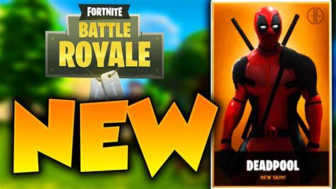 DEADPOOL SKIN in FORTNITE