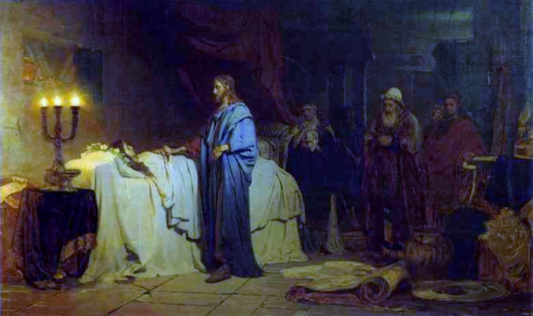 Miracle of Jesus – Jairus's Daughter and the Woman with Hemorrhage ...