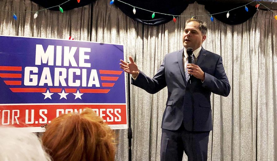 Update: Republican Mike Garcia picks up Katie Hill's California seat as Dem candidate concedes race…