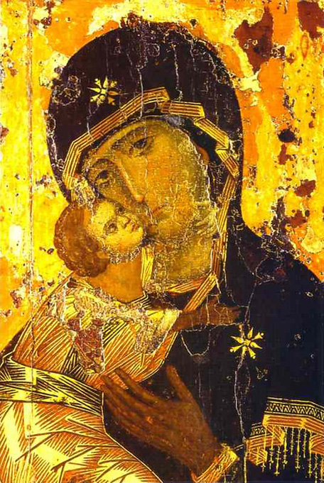 Theotokos of Vladimir - Wikipedia