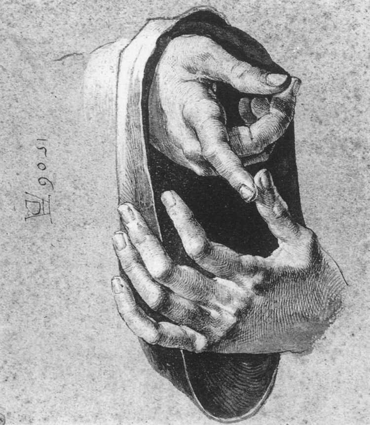 File:Dürer, Albrecht - Study of Hands - 1506.jpg ...