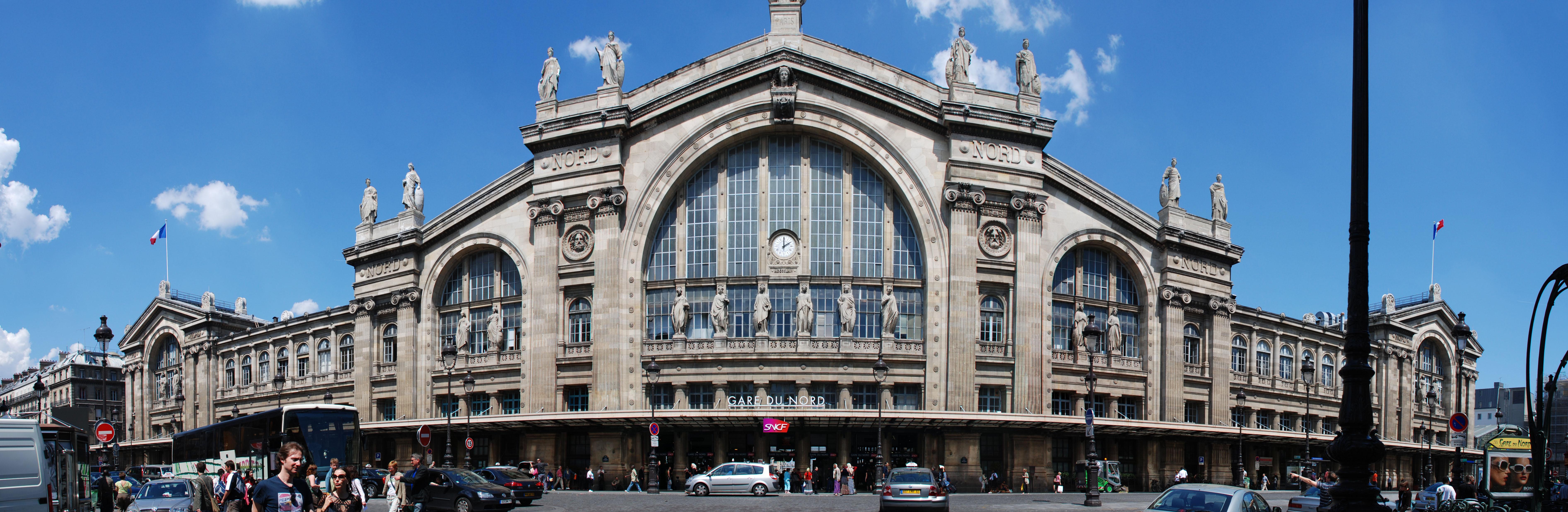 File:Paris Gare Du Nord Exterior.jpg - Wikimedia Commons