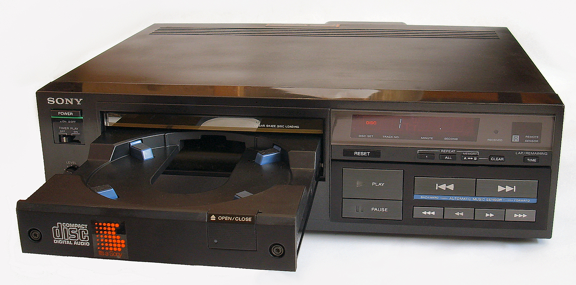 Sony CDP-101 – Wikipedia, wolna encyklopedia