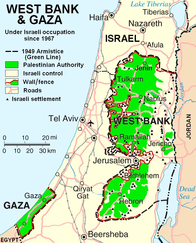 Israeli–Palestinian conflict - Wikipedia