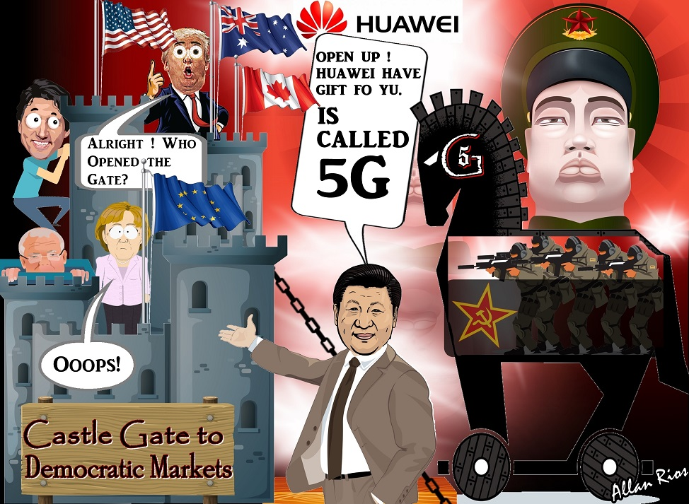 Concerns over Chinese involvement in 5G wireless networks ...