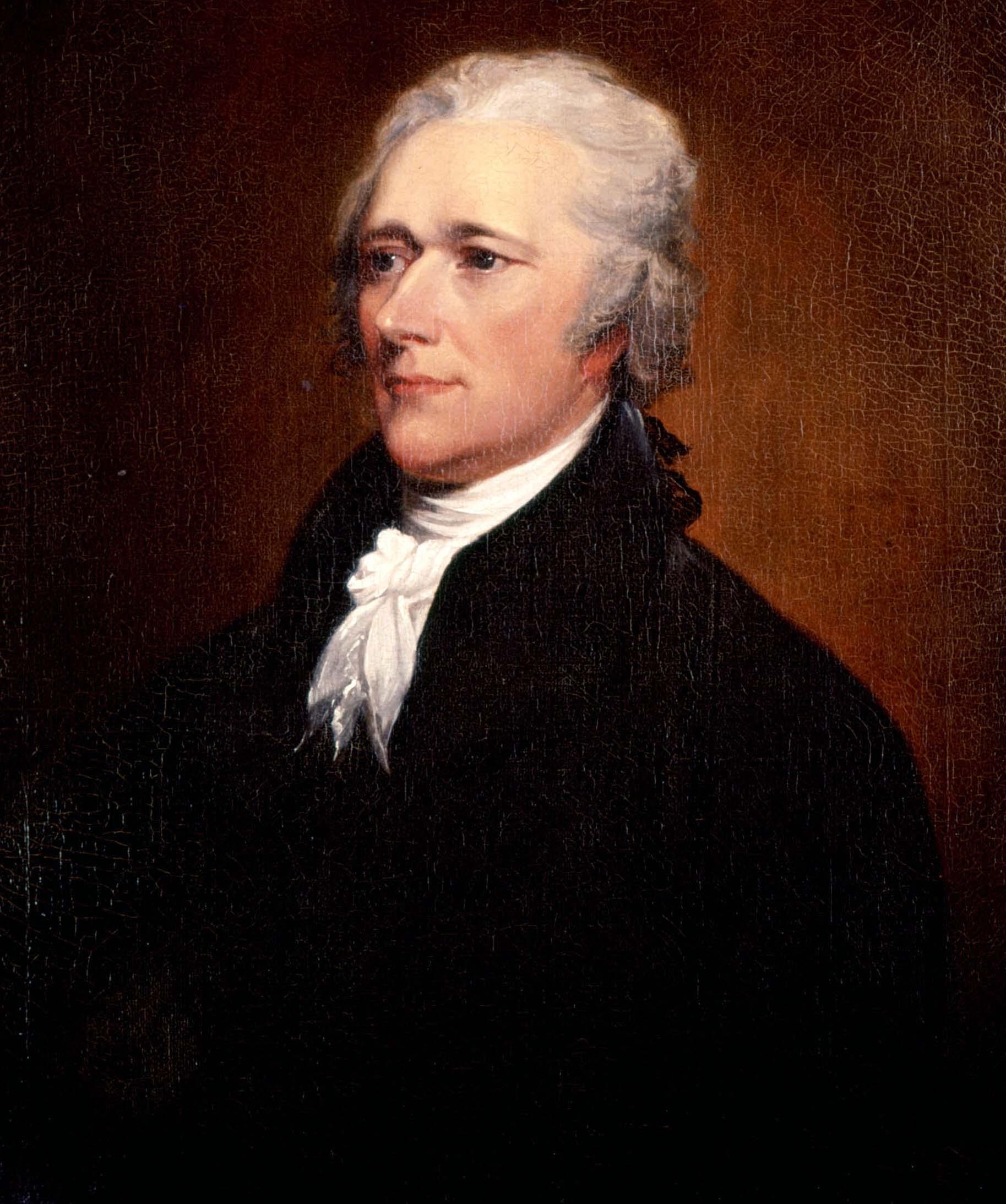 File:Alexander Hamilton, by Trumbull.jpg - Wikimedia Commons