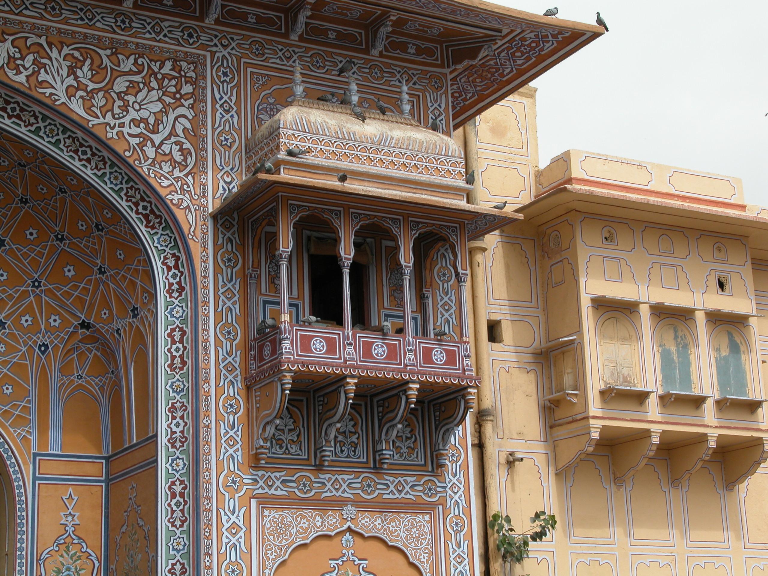 File:Small balcony city palace, Jaipur.jpg - Wikimedia Commons