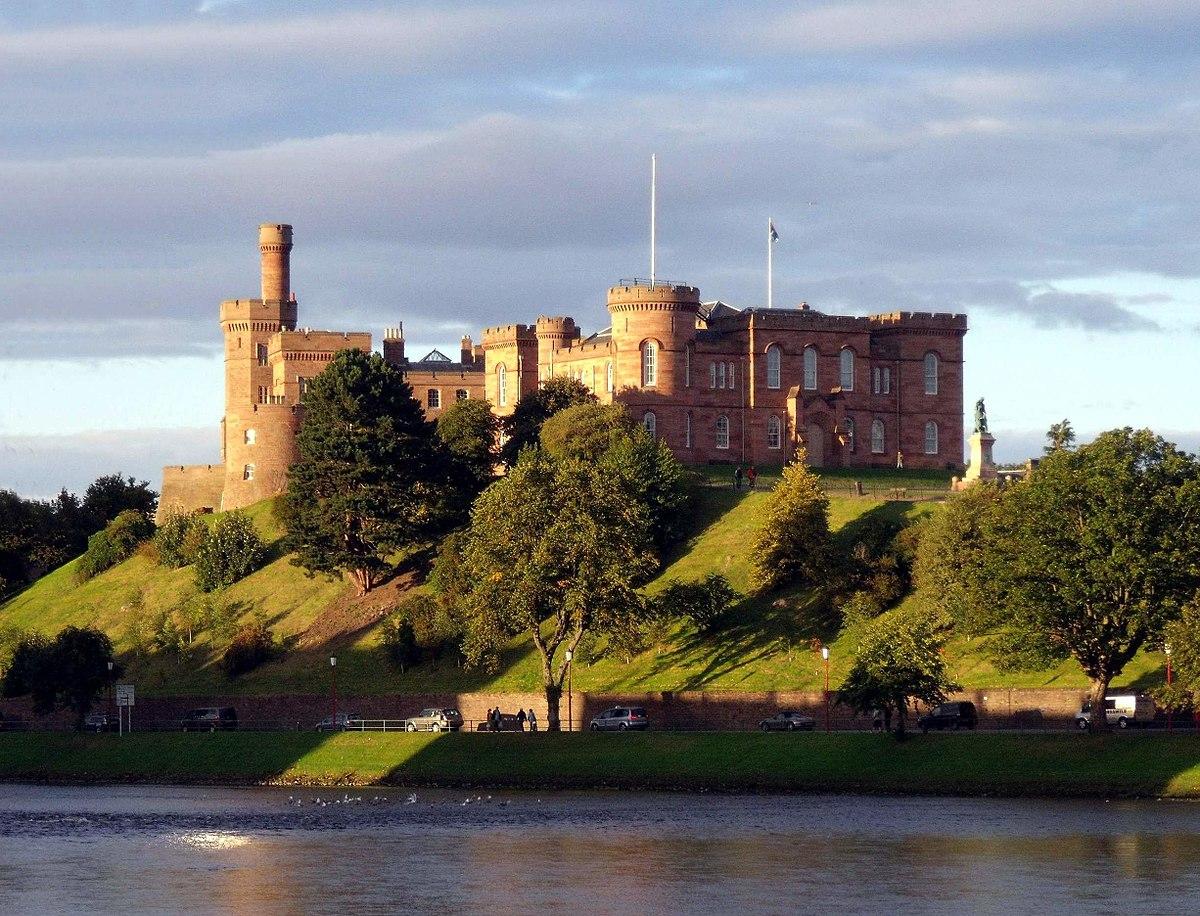 File:Inverness Castle and River Ness Inverness Scotland ...