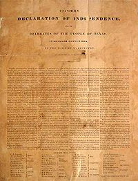 Texas Independence Day - Wikipedia