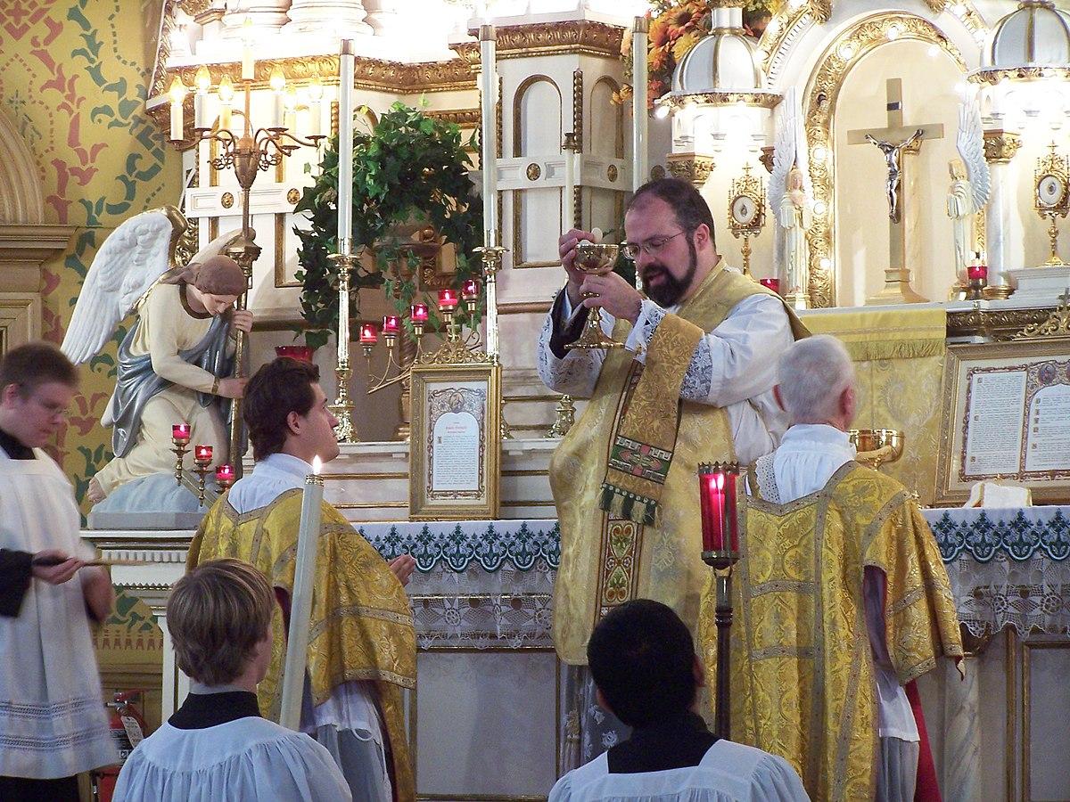 Eucharist in the Catholic Church - Wikipedia
