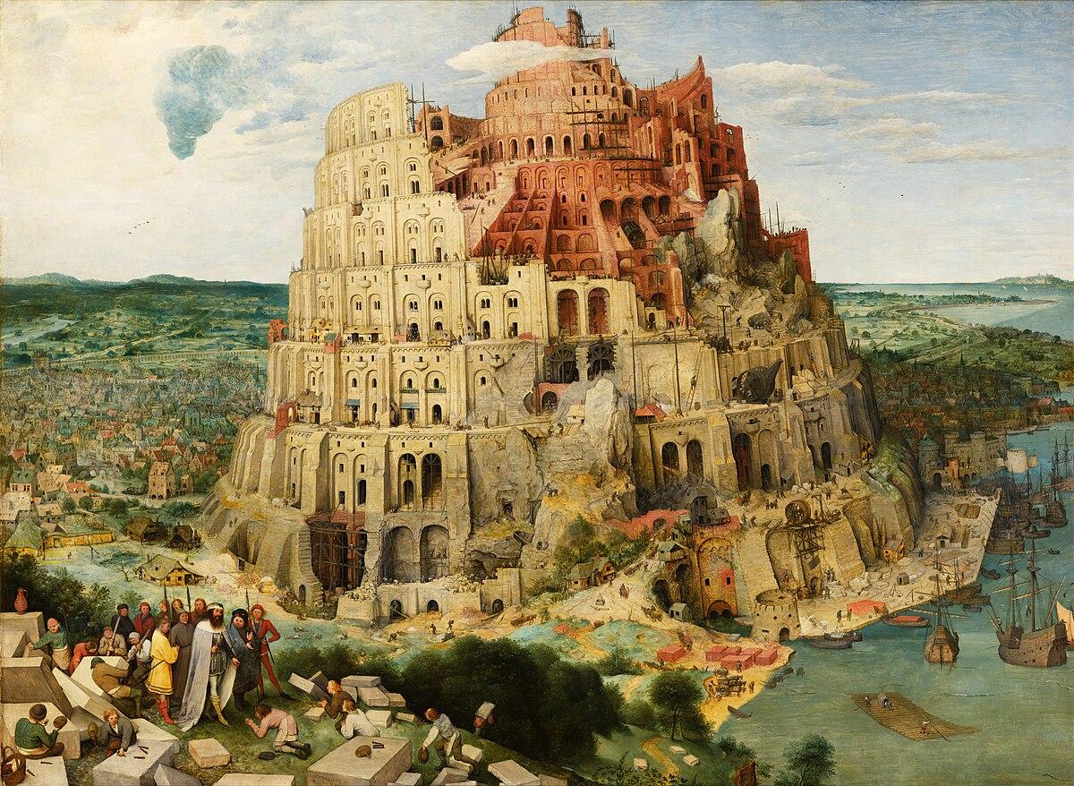 Torre de Babel - Wikipedia, la enciclopedia libre
