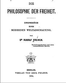 Philosophie der Freiheit – Wikipedia