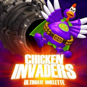 Chicken Invaders 4 Game Cover